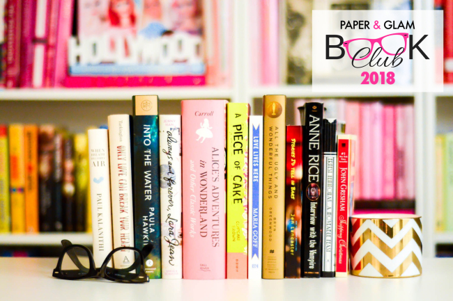 The Paper & Glam Book Club 2018